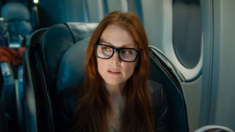 Julianne Moore i Non-stop (Foto: SF Norge AS).