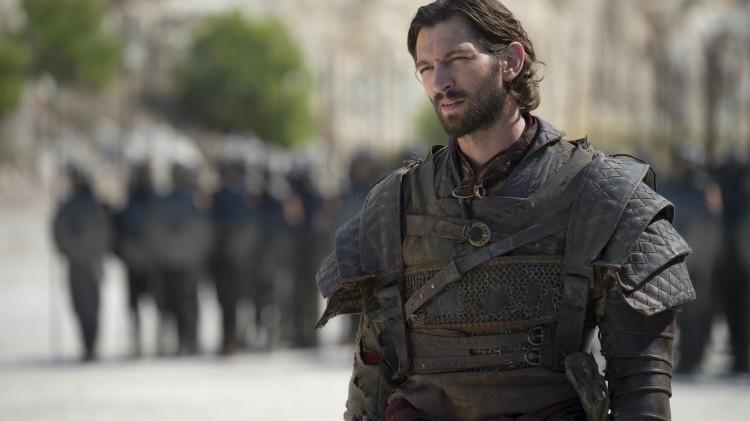 Michiel Huisman er en røffere utgave av Daario Naharis. (Foto: HBO).