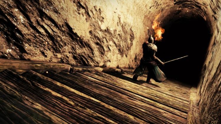 Nytt for Dark Souls II er fakkelen du kan bruke til å lyse vei i mørket. (Foto: Namco Bandai).