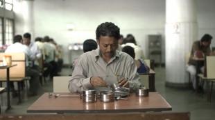 Saajan (Irrfan Khan) får en velsmakende overraskelse i The Lunchbox (Foto: Scanbox).