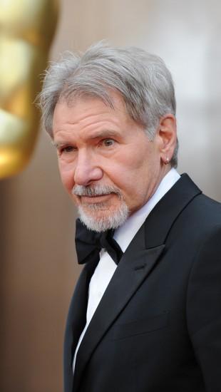 Harrison Ford på den røde løperen under Oscar-utdelingen 2014. (Foto: AFP PHOTO / Robyn BECK)