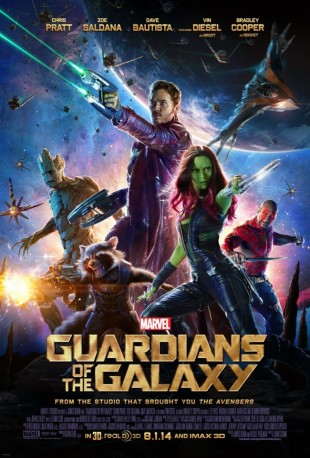 Filmplakat for Guardians of the Galaxy (Foto: Marvel)