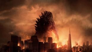 Godzilla ruver, og ødelegger, i Gareth Edwards nyinnspilling. (Foto: Warner Bros. Pictures/ SF Norge AS)