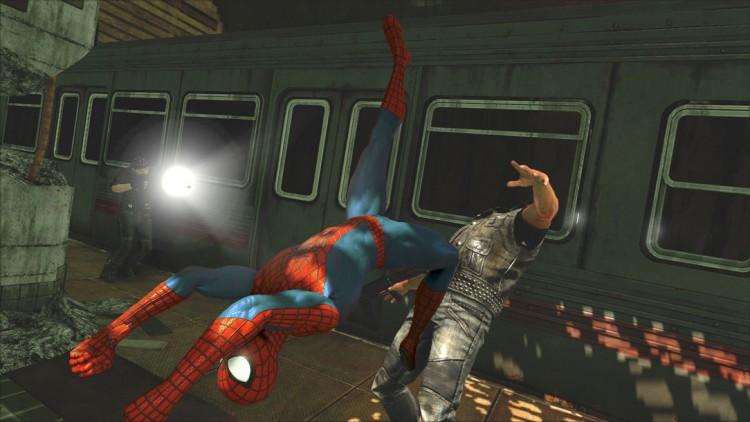 Vel utførte kombinasjoner i kamp utløser signaturangrepene til Spider-Man. Promobilde fra spillet «The Amazing Spider-Man 2». (Foto: Beenox)»