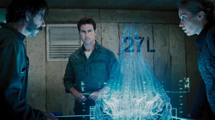 Noah Taylor, Tom Cruise og Emily Blunt) i Edge Of Tomorrow (Foto: Warner Bros. Pictures/ SF Norge).