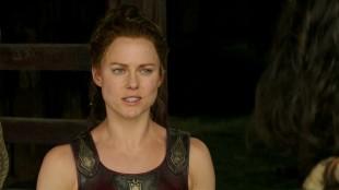 Ingrid Bolsø Berdal i et stillbilde fra traileren til storfilmen «Hercules». (Foto: Paramount Pictures)