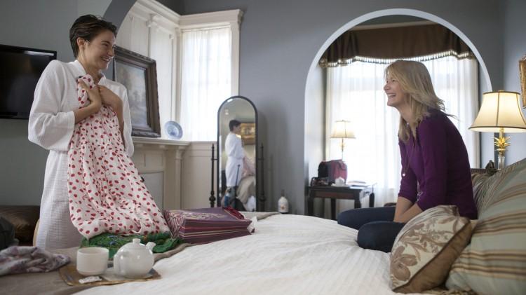 Shailene Woodley og Laura Dern spiller datter og mor i The Fault In Our Stars (Foto: Fox Film).
