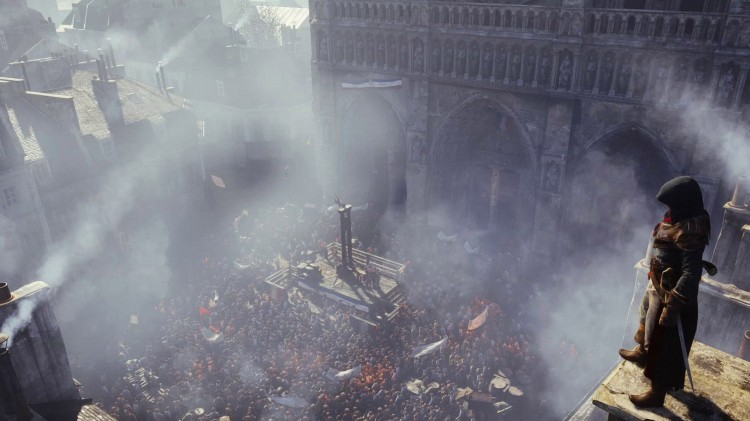 Notre-Dame og alle bygningene i Assassin's Creed: Unity er i riktig målestokk. (Foto: Ubisoft)