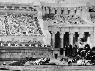 Stillbilde fra innspillingen av «Ben-Hur» (1925). (Foto: Wikipedia.com / Fri opphavsrett)