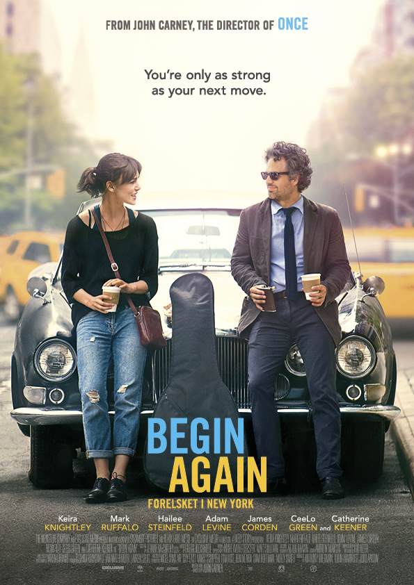 Begin Again – Forelsket i New York