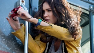 Megan Fox spiller reporteren April O'Neil i Teenage Mutant Ninja Turtles (Foto: United International Pictures).