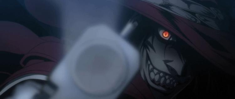 Alucard bytter ut hoggtenner med pistoler, men er fortsatt råtøff (Foto: Gonzo/Funimation)