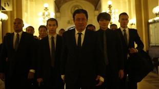 Den japanske narkobaronen Mr. Jang (Min-sik Choi) i Lucy (Foto: United International Pictures).