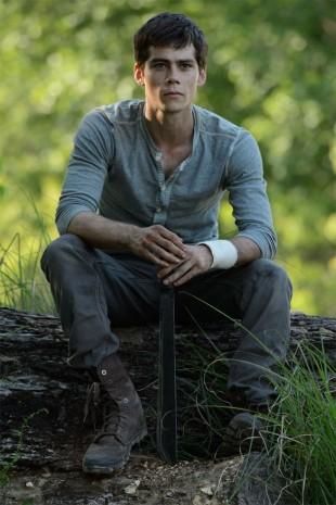 Dylan O'Brien, som spiller hovedrollen Thomas i The Maze Runner, er nok et ansikt vi får se mer av fremover. (Foto: Twentieth Century Fox Norway).
