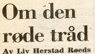 Klikk for full størrelse. Innlegg om «I ungdommens makt» av Roar Skolmen, på trykk i VG den 20. september 1980. (Faksimile: VG)