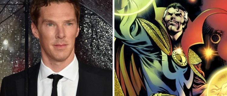 Benedict Cumberbatch kan bli superhelten Doctor Strange