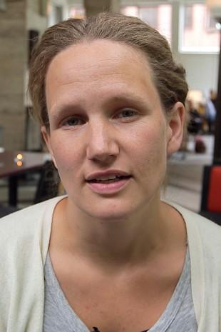 Mariken Halle er regissør og manusforfatter. (Foto: NRK).