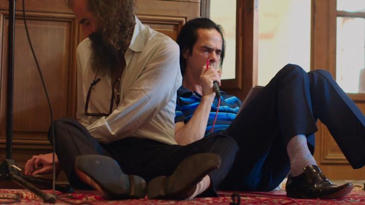 Warren Ellis og Nick Cave skaper musikk i 20.000 Days On Earth (Foto: Tour de Force).