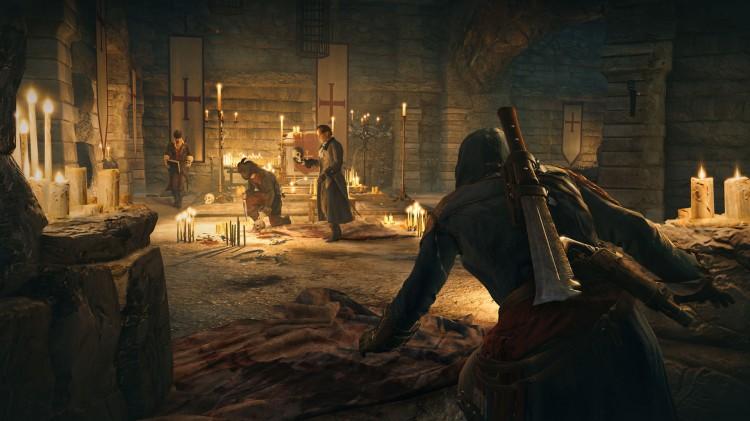 Krigen mellom tempelridderne og assassinerne har også plass i Assassin's Creed Unity. (Promofoto: Ubisoft).