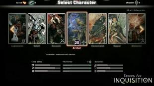 Klassiske valg i figurskaperen møter deg når du starter «Dragon Age: Inquisition». (Foto: EA / Bioware)