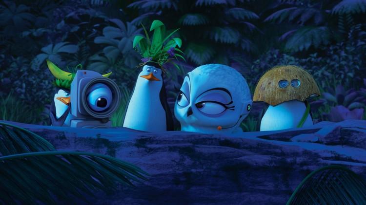 Våre helter i forkledning i Madagaskarpingvinene (Foto: 20th Century Fox).
