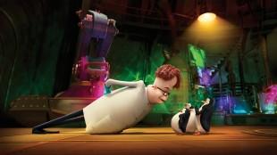 En mystisk figur som kaller seg Dave skaper trøbbel i Madagaskarpingvinene (Foto: 20th Century Fox).