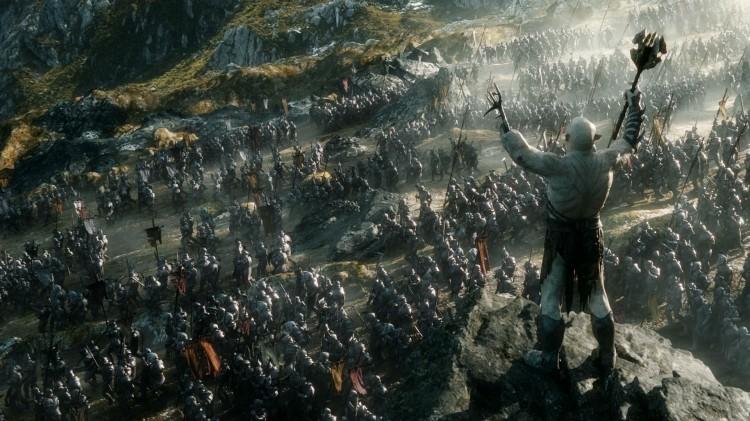 Peter Jackson bruker mye CGI i Hobbiten: Femhærerslaget. (Foto: SF Norge AS).