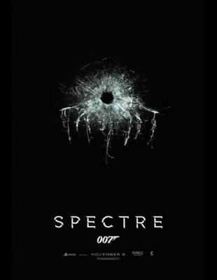 Slik ser filmplakaten for SPECTRE ut. (Foto: MGM / SF Norge AS).