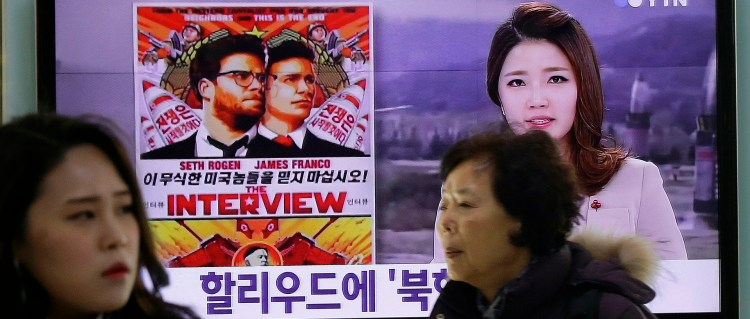 Nettsuksess for «The Interview»