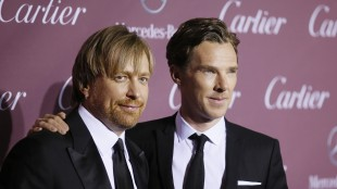 Både Morten Tyldum og Benedict Cumberbatch ble nominert til Oscar for The Imitation Game. (Foto: Reuters/Danny Moloshok)