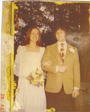 Robert Durst og kona Kathleen McCormack før hun forsvant sporløst i 1982. (Foto: HBO Nordic)