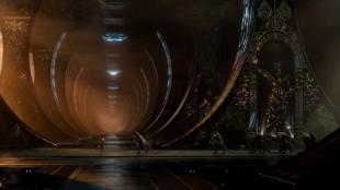 Snakkende øgleskapninger er en viktig del av Jupiter Ascending (Foto: Warner Bros. Pictures/ SF Norge).