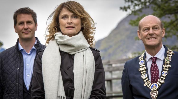 Lena Endre spiller Eva i «Frikjent».  (Foto: Carl Christian Raabe, Miso Film Norge, TV2).