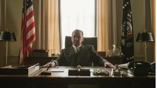 President Lyndon B. Johnson spilles veldig godt av den britiske skuespilleren Tom Wilkinson. (Foto: The Walt Disney Company Nordic).