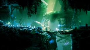 Lys og skygge er viktige elementer i fargespillet til «Ori & the Blind Forest». (Foto: Moon Studios / Microsoft)