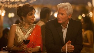 Lillete Dubey møter Richard Gere i The Second Best Exotic Marigold Hotel (Foto: 20th Century Fox).