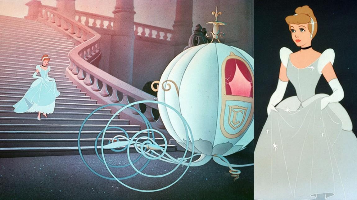 Problemet med kjoler som enten er hvite eller blå oppstod allerede i 1950, da Disney ga ut sin animasjonsfilm om Askepott. (Foto: Walt Disney Pictures/ www.disney.no)