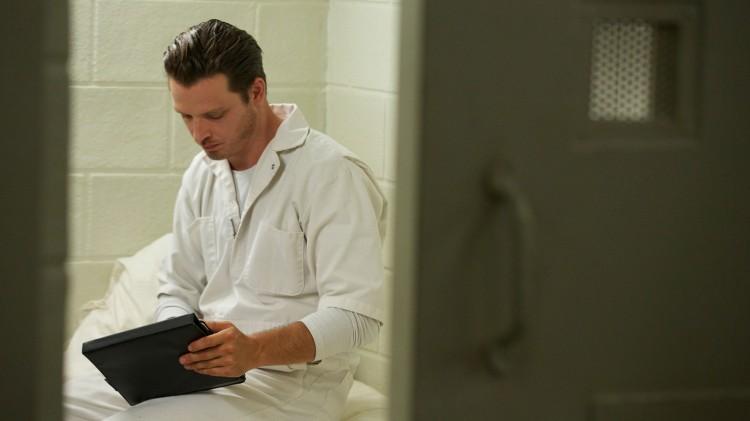 Daniel på dødscella. (Foto: SundanceTV, Viasat Crime).