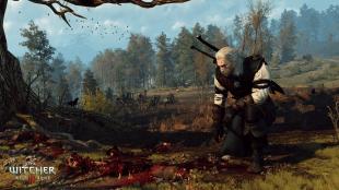 I enkelte undersøkelser blir «film noir»-stemmen til Geralt i overkant og ufrivillig humoristisk. Promobilde fra «The Witcher 3: Wild Hunt». (Foto: CD Projekt RED)
