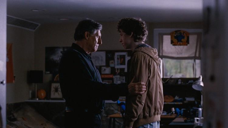 Gabriel Byrne og Devin Druid som far og sønn i Louder Than Bombs (Foto: Motlys).