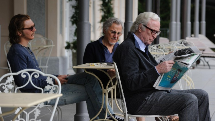 Paul Dano, Harvey Keitel og Michael Caine i Youth (Foto: Festival de Cannes).