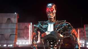 Det er nok av tøffe effekter i Terminator Genisys (Foto: United International Pictures).