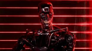 Et Terminator-skjelett på oppdrag i Terminator Genisys (Foto: United International Pictures).