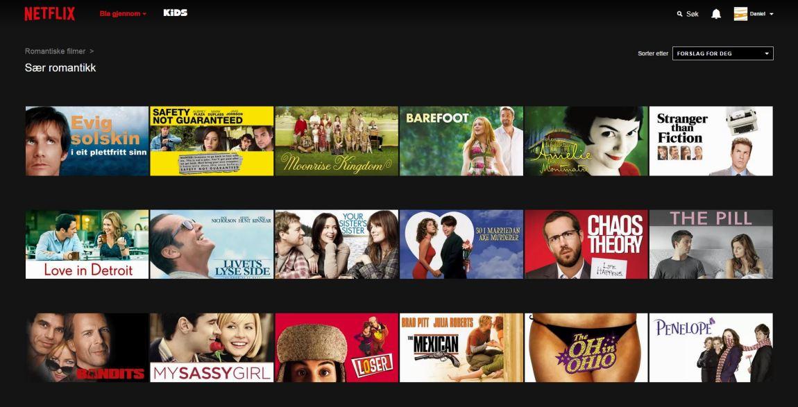Apropos anbefalinger: Her treffer Netflix midt i den berømte blinken. Takk for at dere tar undersjangeren min på alvor. (Foto: Skjermdump)