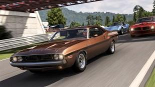 Det er like gøy å kjøre med gamle biler som nye i Forza Motorsport 6 (Foto: Microsoft).