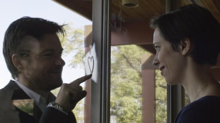 Ekteparet Robyn (Rebecca Hall) og Simon (Jasone Bateman) starter nytt liv i Los Angeles i The Gift (Foto: Norsk Filmdistribusjon).