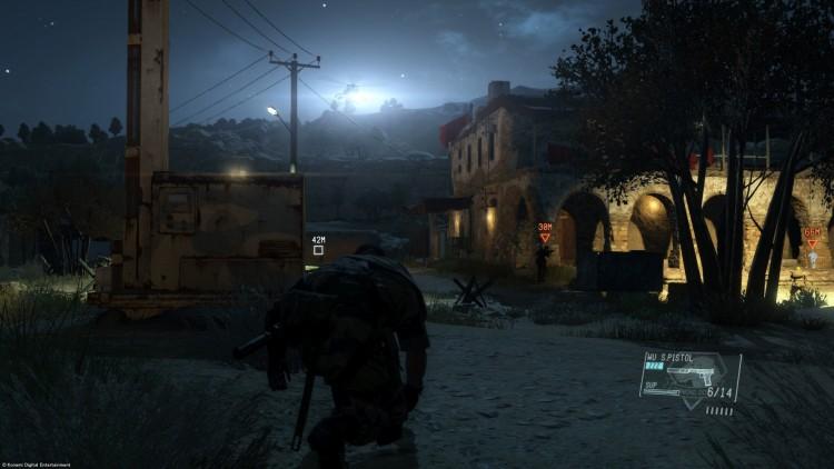 Grunnsteinen i spillet er fortsatt sniking. (Foto: Konami Digital Entertainment).