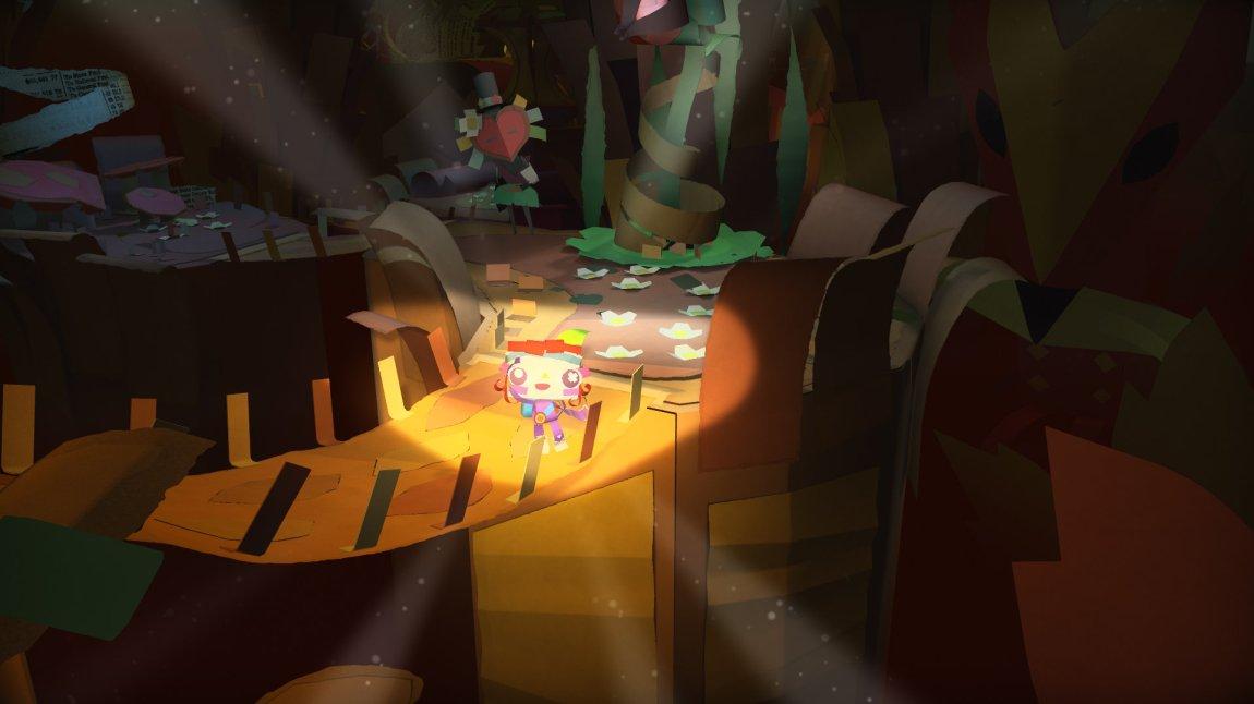 """Spillets """"You"""", altså deg, kan bruke håndkontrollen til å sette lys på omgivelsene. (Foto: Sony)"""