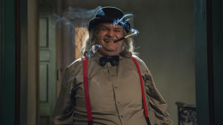Atle Antonsen spiller sleske Claude Cliché i Doktor Proktors tidsbadekar (Foto: Maipo Film / Nordisk Film Distribusjon AS).