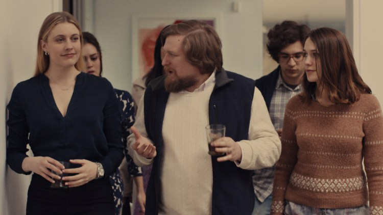 Greta Gerwig, Heather Lind, Michael Chernus, Matthew Shear og Lola Kirke i Mistress America (Foto: Tour de Force).